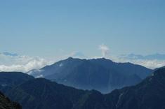 富士山が!
