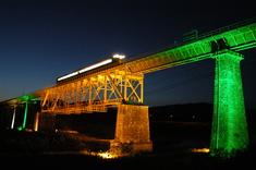 磐越西線・一ノ戸橋梁