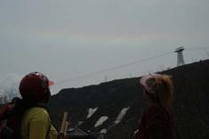 こんな虹が!