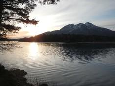 夕日の燧ケ岳