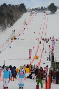 2019 FIS・W杯モーグル 秋田大会